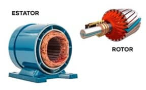 exemplo de motor de corrente contínua