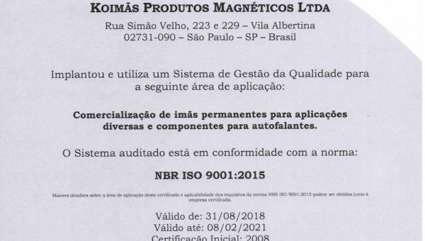 Certificado-Koimas-ISO9001